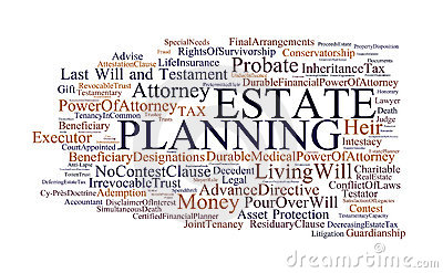 Estate planning collage